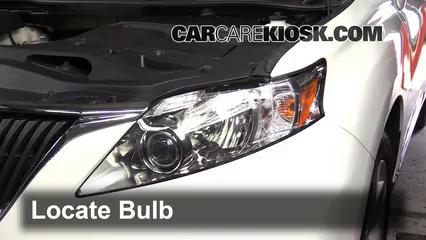 Headlight Change 2010 2015 Lexus Rx450h 2010 Lexus
