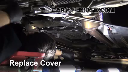 Oil filter change mercedes benz e350 2010 2016 2010 for Mercedes benz e350 oil change