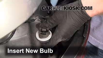how to change rear light bulb ford 2010 se
