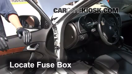 Peugeot 307 Fuse Box Radio additionally 2006 Saab 9 7x Wiring Diagram furthermore Replace besides Touareg Battery Location besides 1972 Saab Vin Location. on fuse box diagram saab 9 5