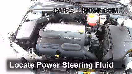 fix power steering leaks saab 9 3 2008 2011 2010 saab 9 3 2 0t 2 0l 4 cyl turbo sedan. Black Bedroom Furniture Sets. Home Design Ideas