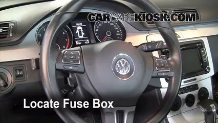 Replace on volkswagen touareg fuse box