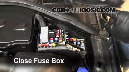 replace a fuse 2007 2016 volvo s80 2010 volvo s80 t6 3 0l 6 cyl 6 replace cover secure the cover and test component