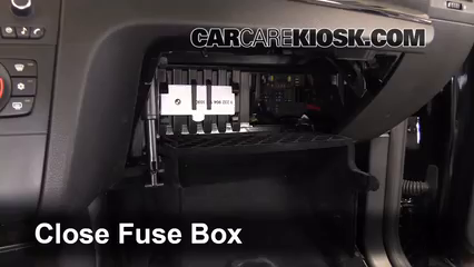Replace on 2009 bmw 328i coupe fuse box location