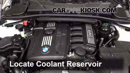 How to Add Coolant BMW 335i 20062013  2011 BMW 335i 30L 6