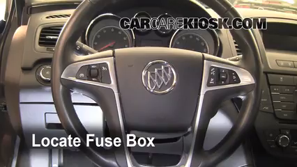 Interior    Fuse       Box    Location  20112016    Buick       Regal     2011    Buick       Regal    CXL 24L 4 Cyl