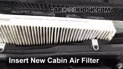cabin filter replacement cadillac sts 2005 2011 2005. Black Bedroom Furniture Sets. Home Design Ideas