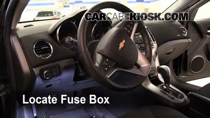 Interior Fuse Box Location: 2011-2016 Chevrolet Cruze ...