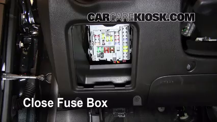 chevrolet cruze interior fuse check