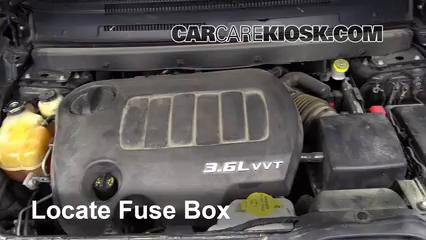 20092016 Dodge Journey Interior Fuse Check 2009 Dodge Journey – Dodge Journey Interior Fuse Box