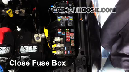 blown fuse check 2005 2012 ford escape 2008 ford escape limited 6 replace cover secure the cover and test component