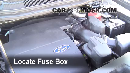 replace a fuse 2011 2016 ford explorer 2013 ford explorer 3 5l v6 Ford Explorer Fuse Box Location Ford Explorer Fuse Box Location #78 ford explorer fuse box location