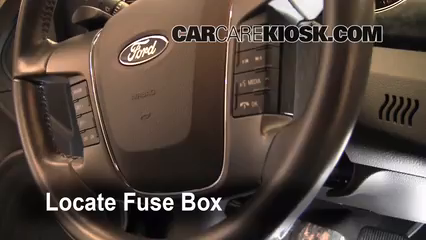 interior fuse box location 2010 2013 ford taurus 2011. Black Bedroom Furniture Sets. Home Design Ideas