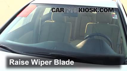 Front Wiper Blade Change Honda Accord 2008 2012 2011