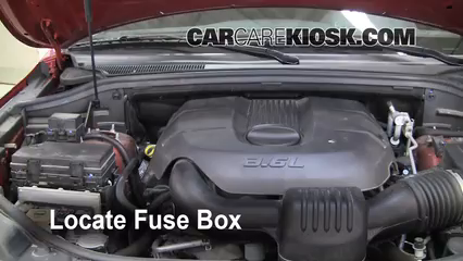 Interior Fuse Box Location 2011 2015 Jeep Grand Cherokee