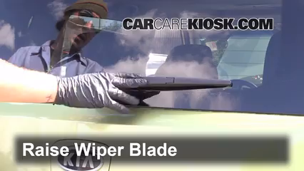 Rear Wiper Blade Change Kia Soul (2010-2013) - 2011 Kia Soul Plus ...