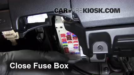 Car Amplifier Repair >> Interior Fuse Box Location: 2011-2016 Lexus CT200h - 2011 ...