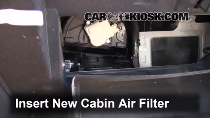2013 Lincoln Mks Cab Air Filter Removal Service Manual