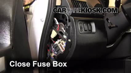 Interior Fuse Box Location 2004 2011 Mitsubishi Endeavor