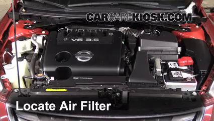 2007 2013 nissan altima engine air filter check 2011. Black Bedroom Furniture Sets. Home Design Ideas