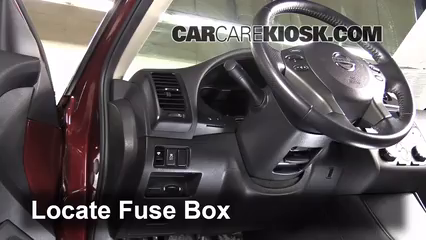 interior fuse box location 2009 2016 nissan gt r 2011 nissan gt interior fuse box location 2009 2016 nissan gt r