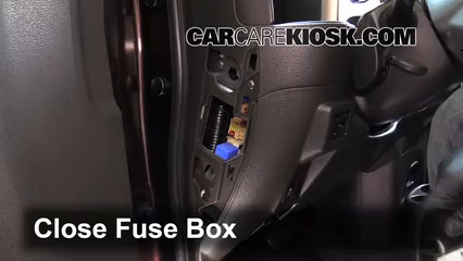 Interior Fuse Box Location 2009 2014 Nissan Cube 2011