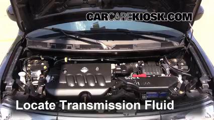 Transmission Fluid Level Check Nissan Cube (2009-2014 ...