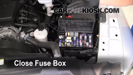 interior fuse box location ram ram slt interior fuse box location 2011 2016 ram 1500 2011 ram 1500 slt 4 7l v8 flexfuel crew cab pickup