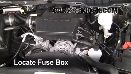 Interior Fuse Box Location 2011 2016 Ram 1500 2011 Ram