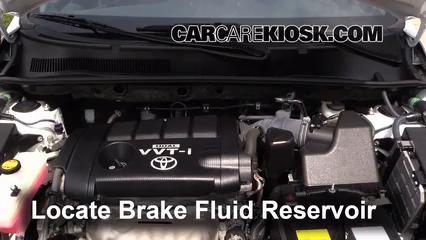 how to change brake fluid toyota