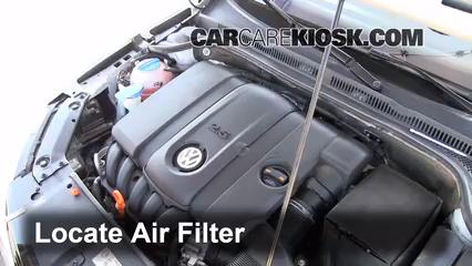 Air Filter How-To: 2011-2016 Volkswagen Jetta - 2011 ...