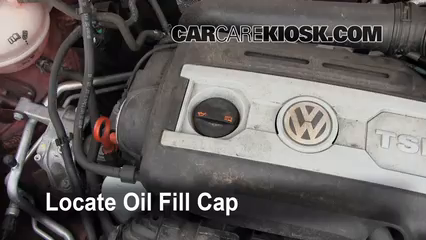 Oil & Filter Change Volkswagen Tiguan (2009-2016) - 2011 Volkswagen Tiguan SE 2.0L 4 Cyl. Turbo