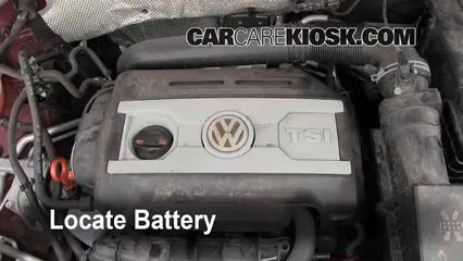 battery replacement 2009 2016 volkswagen tiguan 2011. Black Bedroom Furniture Sets. Home Design Ideas