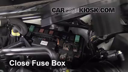 replace a fuse 2009 2014 acura tl 2012 acura tl 3 5l v6 6 replace cover secure the cover and test component