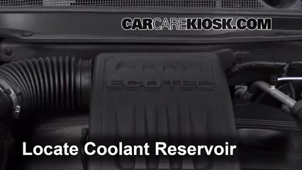 How to Add Coolant Chevrolet Equinox 2010 2015 2010