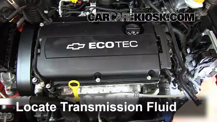 Transmission Fluid Level Check Chevrolet Sonic 20122016  2012
