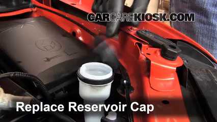 Add Windshield Washer Fluid Chevrolet Sonic 2012 2016