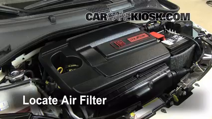Air Filter How To 2012 2016 Fiat 500 2012 Fiat 500 c