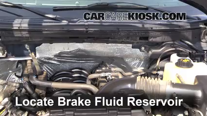 2009 2014 Ford F 150 Brake Fluid Level Check 2012 Ford F