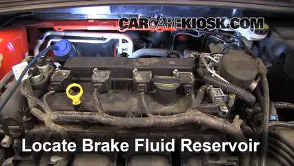 add brake fluid 2012 2016 ford focus 2012 ford focus se 20l 4 cyl sedan