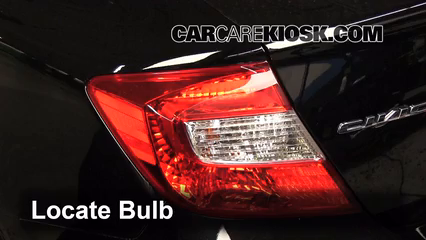 replacing headlight bulb 2012 chevy cruze