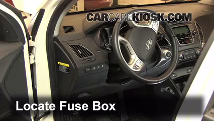 interior fuse box location 2010 2015 hyundai tucson. Black Bedroom Furniture Sets. Home Design Ideas