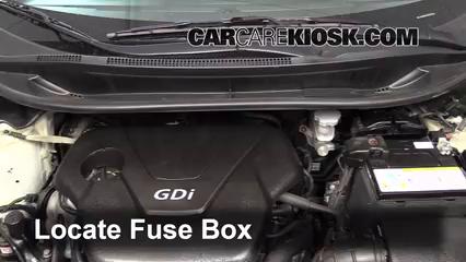 replace a fuse 2012 2012 kia rio5 2012 kia rio5 lx 1 6l 4 cyl locate engine fuse box and remove cover