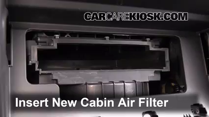 Cabin Filter Replacement: Kia Sorento 2011-2011 - 2011 Kia ...