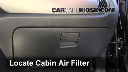 2011-2016 Kia Sportage Cabin Air Filter Check - 2011 Kia ...