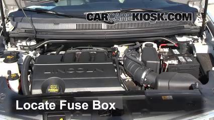 Replace a Fuse 20102016 Lincoln MKT 2012 Lincoln MKT 37L V6 – Lincoln Mkz Fuse Box Diagrams