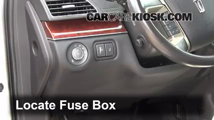 interior fuse box location 2010 2016 lincoln mkt 2012 lincoln interior fuse box location 2010 2016 lincoln mkt