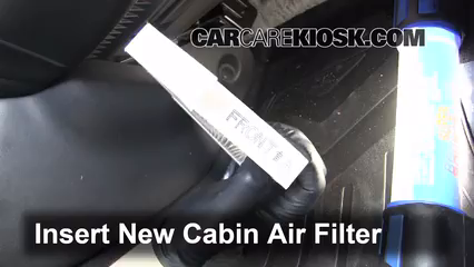 2011-2016 Nissan Juke Cabin Air Filter Check - 2012 Nissan ...