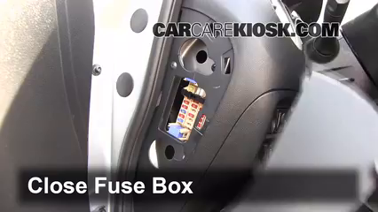 Fuse Interior Part on Nissan Cube Seats