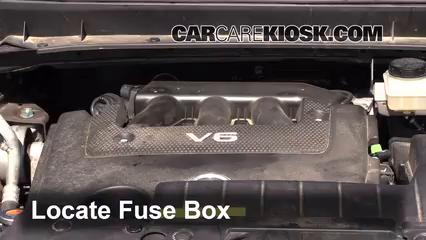 replace a fuse 2009 2014 nissan murano 2012 nissan murano sl Nissan Murano Fuse Box replace a fuse 2009 2014 nissan murano 2012 nissan murano sl 3 5l v6 nissan murano fuse box